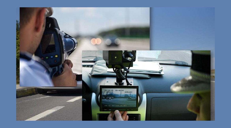Nevalabilitate probă video radar pentru fluctuații de viteză